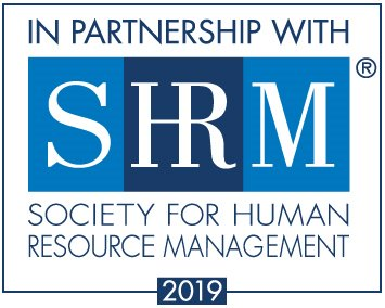 In partnership with SHRM: Society for Human Resource Management 2019