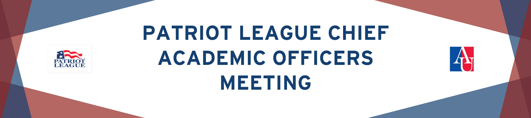 Patriot League Chief Academic Officers Meeting