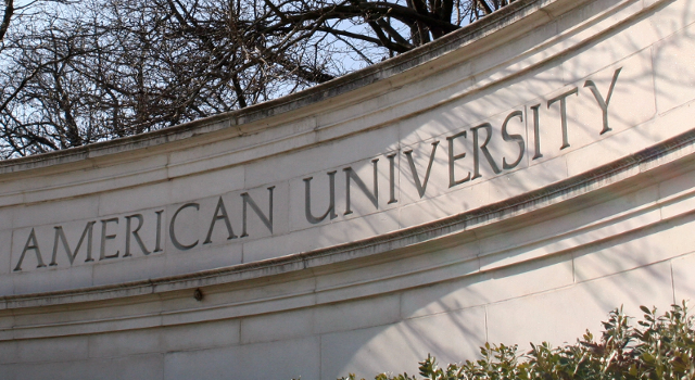 Sign - The American University