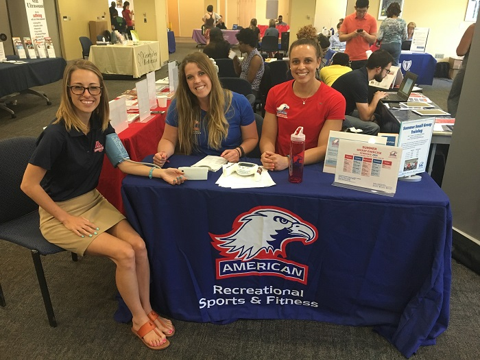 Staff tabling event