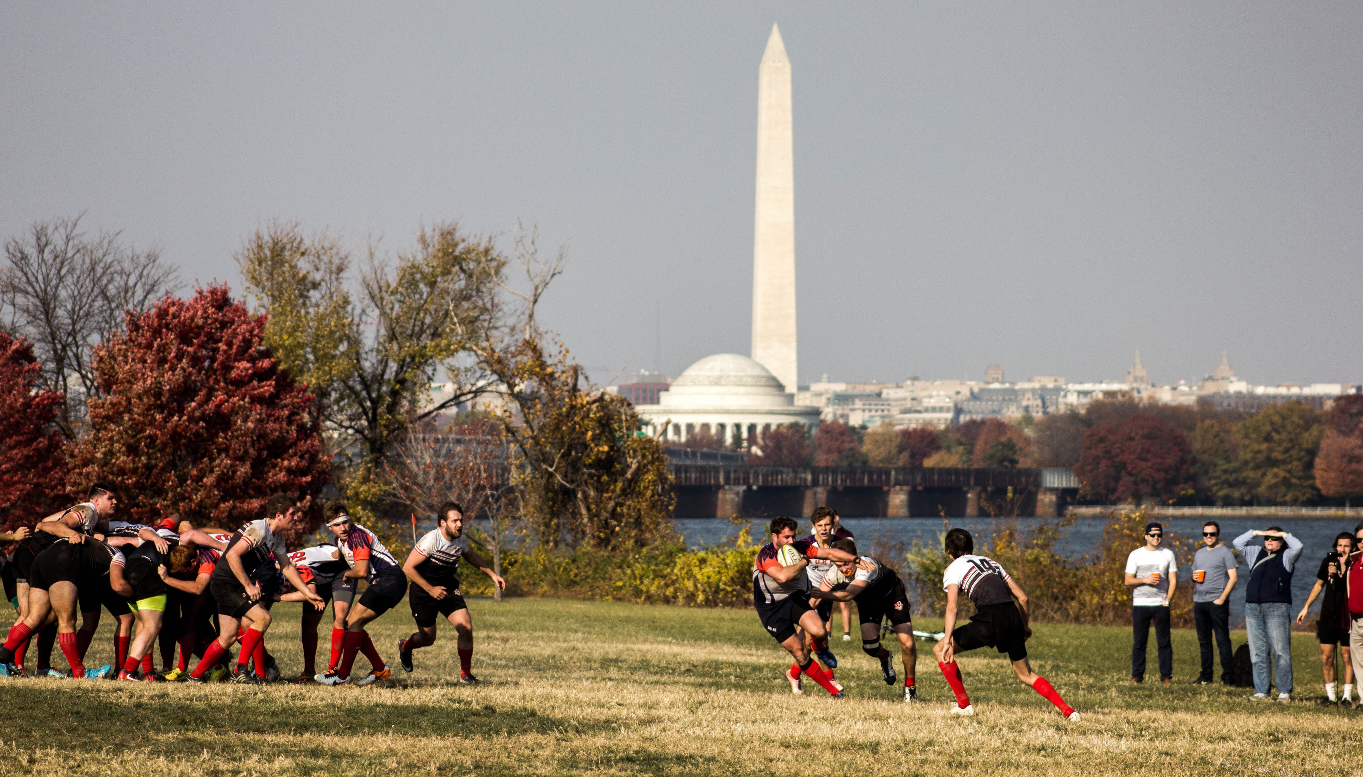 Men's Rugby game in DC