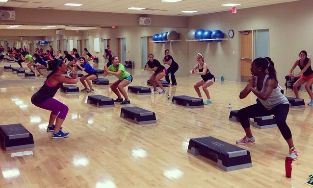 group exercise class names