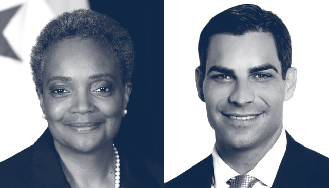 Mayor Lori Lightfoot & Mayor Francis Suarez