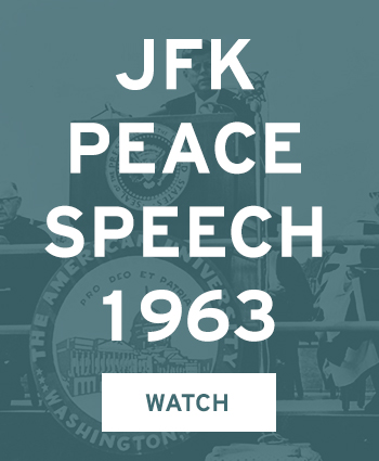 Watch JFK Peace Speach 1963