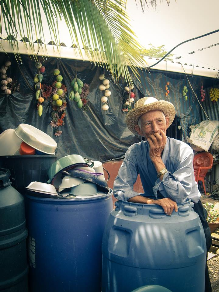 Photo of a local El Salvadorian man during a USAID program