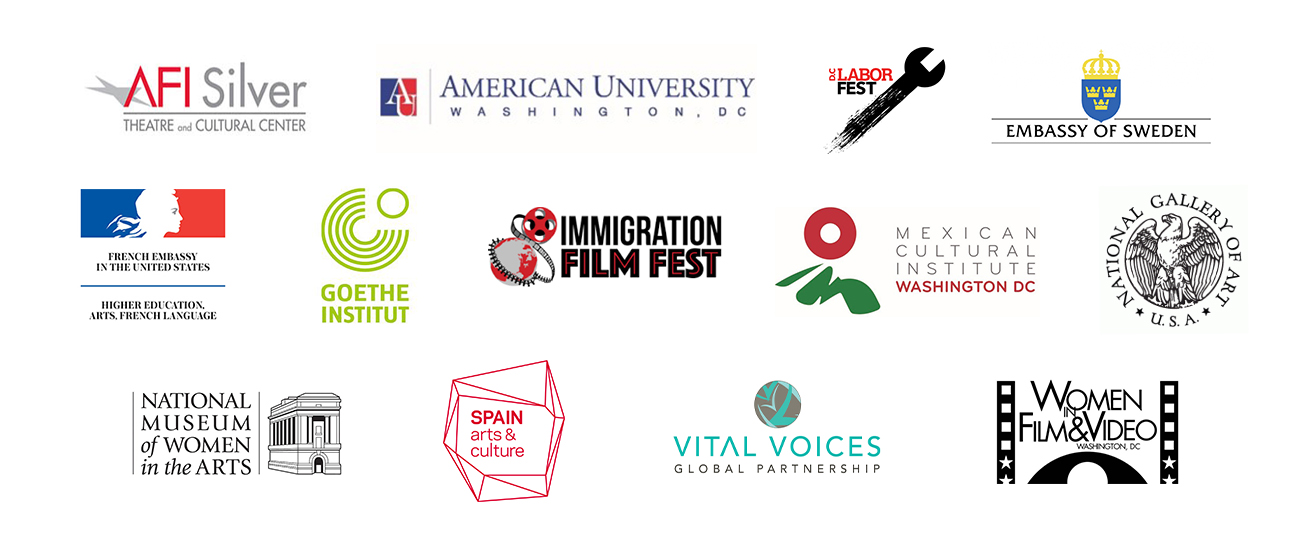 Films Across Borders Series Partners listed under presented by