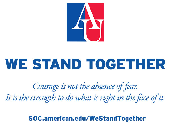 We Stand Together Courage is not the absence of fear. It is the strength to do what is right in the face of it.