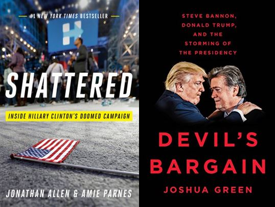 Book covers for Shattered and The Devil's Bargain