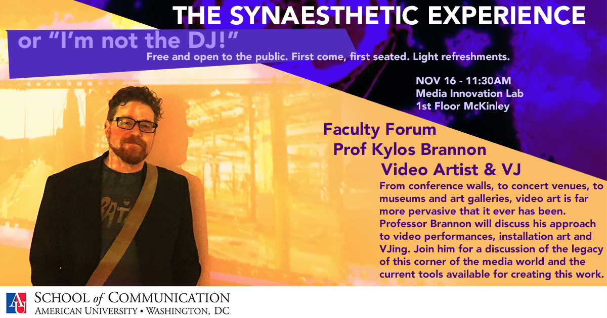 Faculty Forum with Kyle Brannon