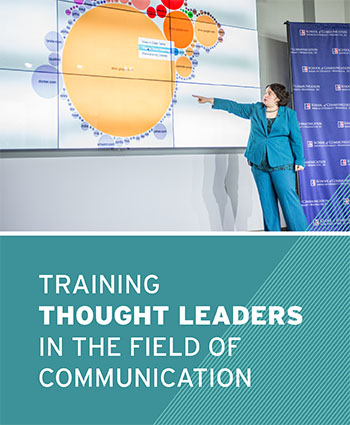 Training thought leaders in the field of communication.