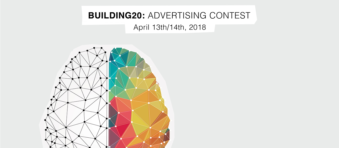 Building20 Advertising Content April 13-14, 2018