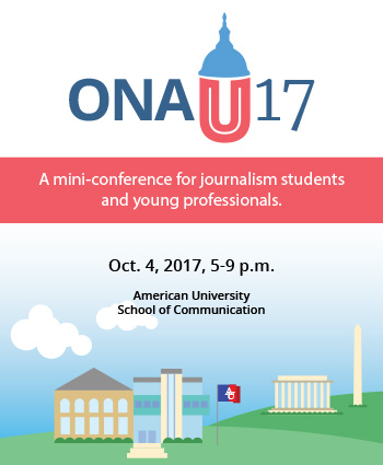ONAU 2017 A mini-conference for journalism students and young professionals October 4, 2017, 5-9pm