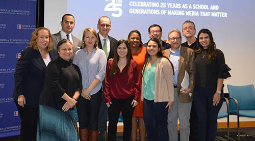 NAHJ members and event panelists
