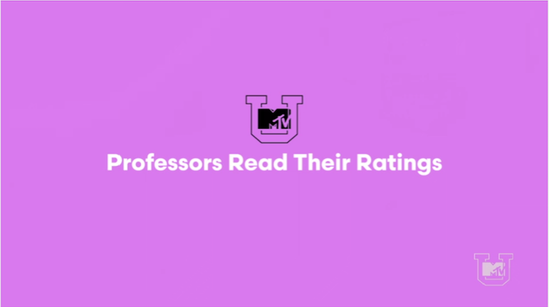 Professors Read Bad Reviews