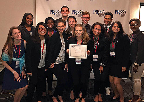 2017 PRSSA chapter