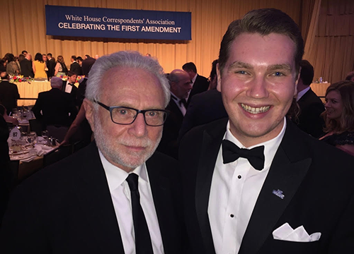 Stephen Pienciak and Wolf Blitzer