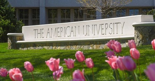 Photo of American University entrance