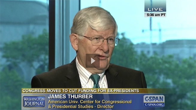 James Thurber on CSPAN June 2015