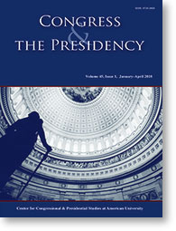 Congress and the Presidency: A Journal of Capital Studies