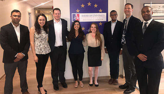 European Public Affairs & Advocacy Institute students