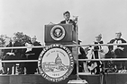 John F. Kennedy at 1963 inauguration