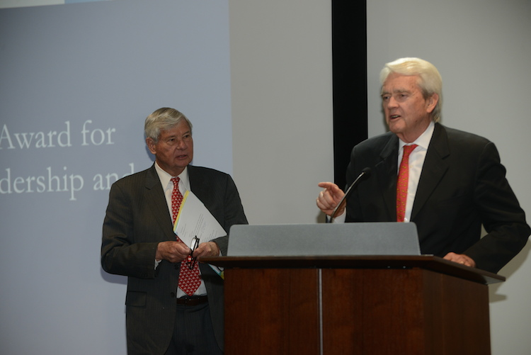 Sen. Bob Graham and Bill Reilly