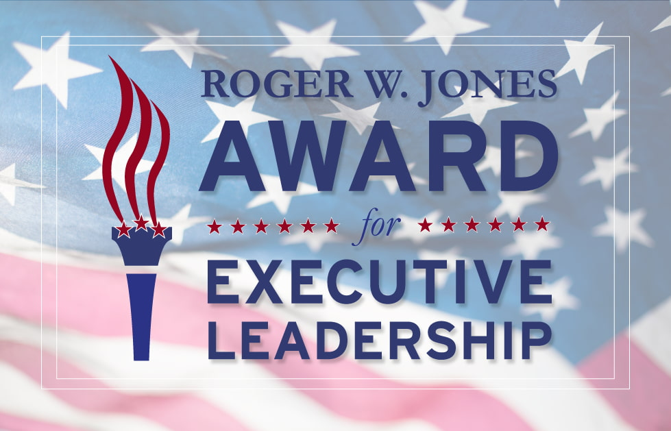 Roger W. Jones Award for Executive Leadership