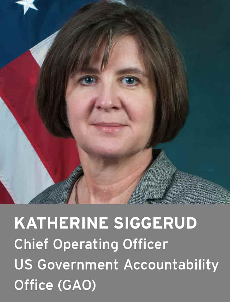 Katherine Siggerud, Chief Operating Officer, US Government Accountability Office (GAO)