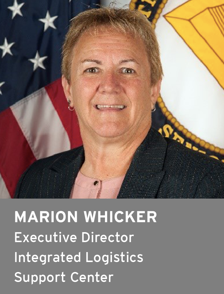 Marion Whicker, Executive Director, Integrated Logistics Support Center