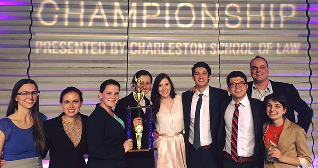 AU's Mock Trial Team Places 3rd in the Nation