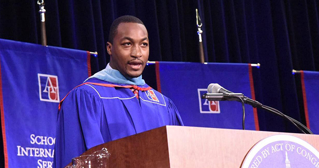 Quentin Fulks, SPA/MA '15: Fall 2015 Commencement Speaker