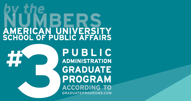 SPA Ranked #3 Graduate Program in Public Administration