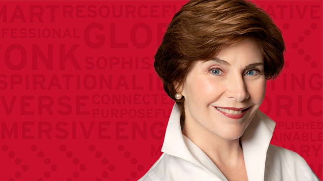 Wonk of the Year Awarded to Former First Lady Laura Bush