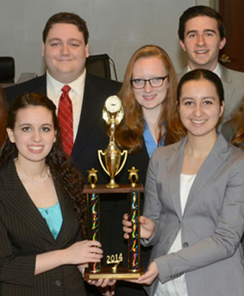 Mock Trial winners
