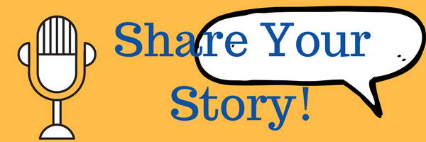 Share Your Story graphic