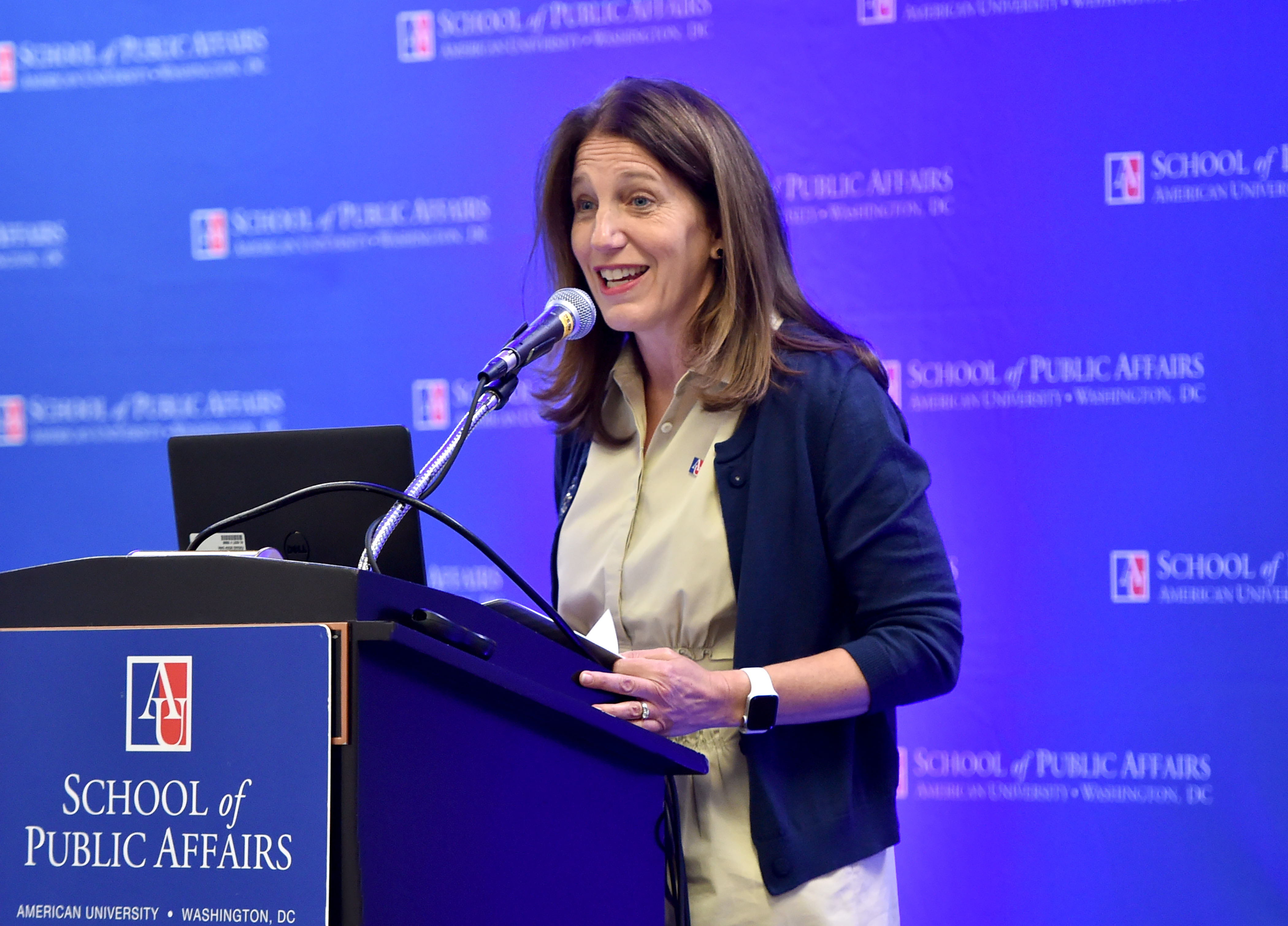 President Burwell at the 2019 Conference