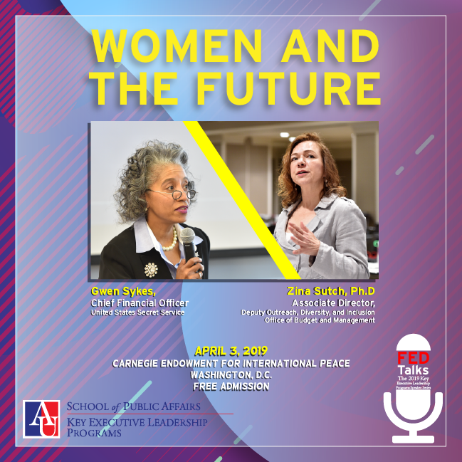 FEDTalks: Women and the Future with Gwen Sykes and Dr. Zina Sutch