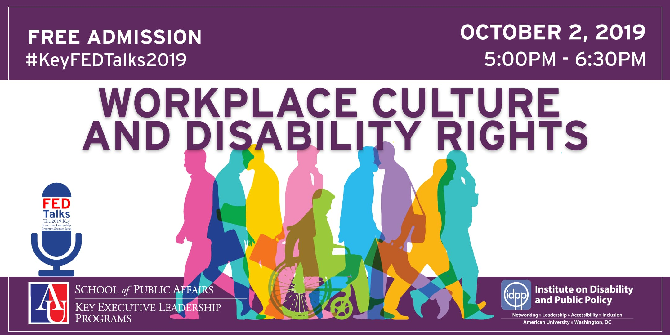 Workplace Culture and Disability Rights FEDTalks from October 2019