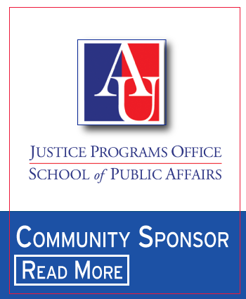 Click here to read more about our community sponsor, Justice Programs Office