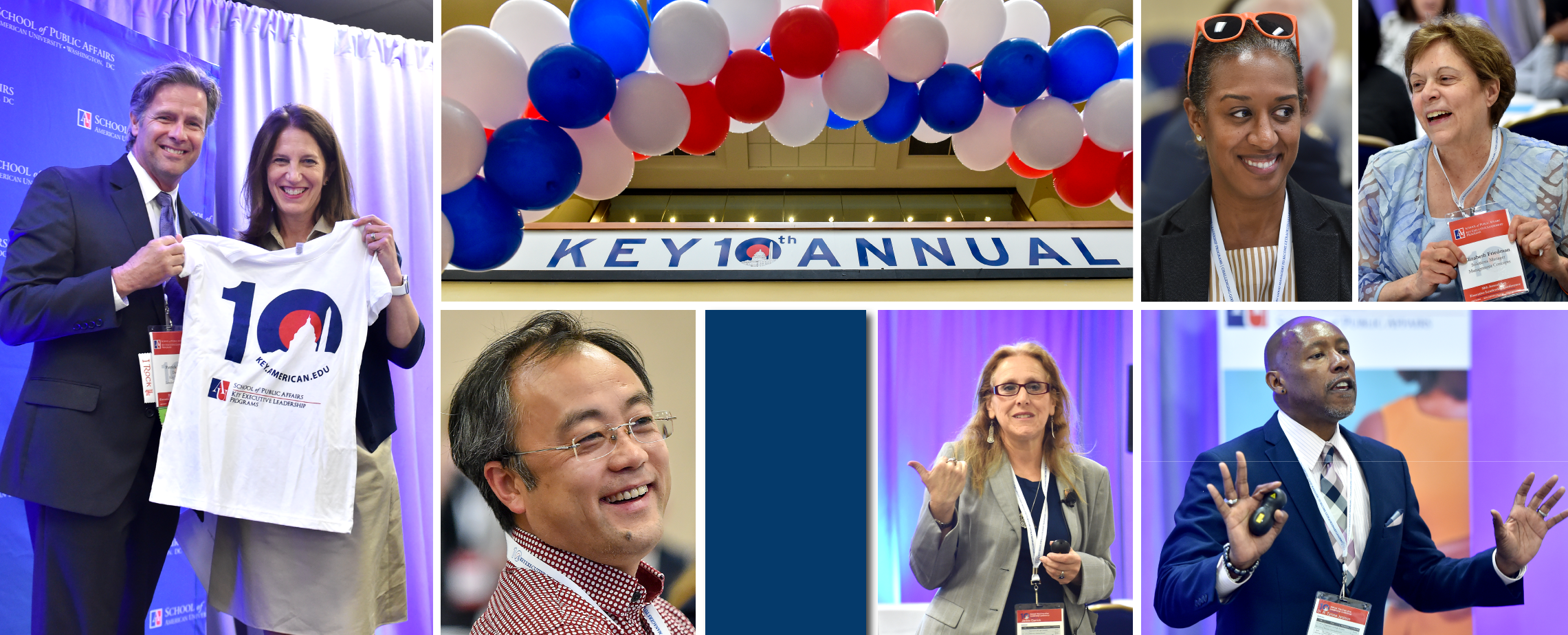 Collage from the 10th Annual Key Executive Leadership Conference