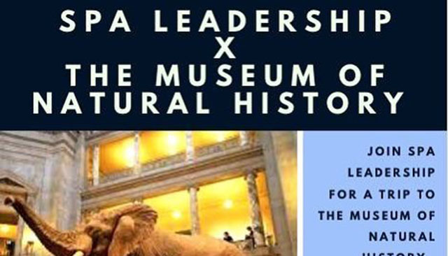 SPA Leadership Museum of Natural History tour