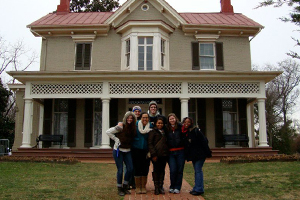 Leadership students at Frederick Douglass National Historic Site.