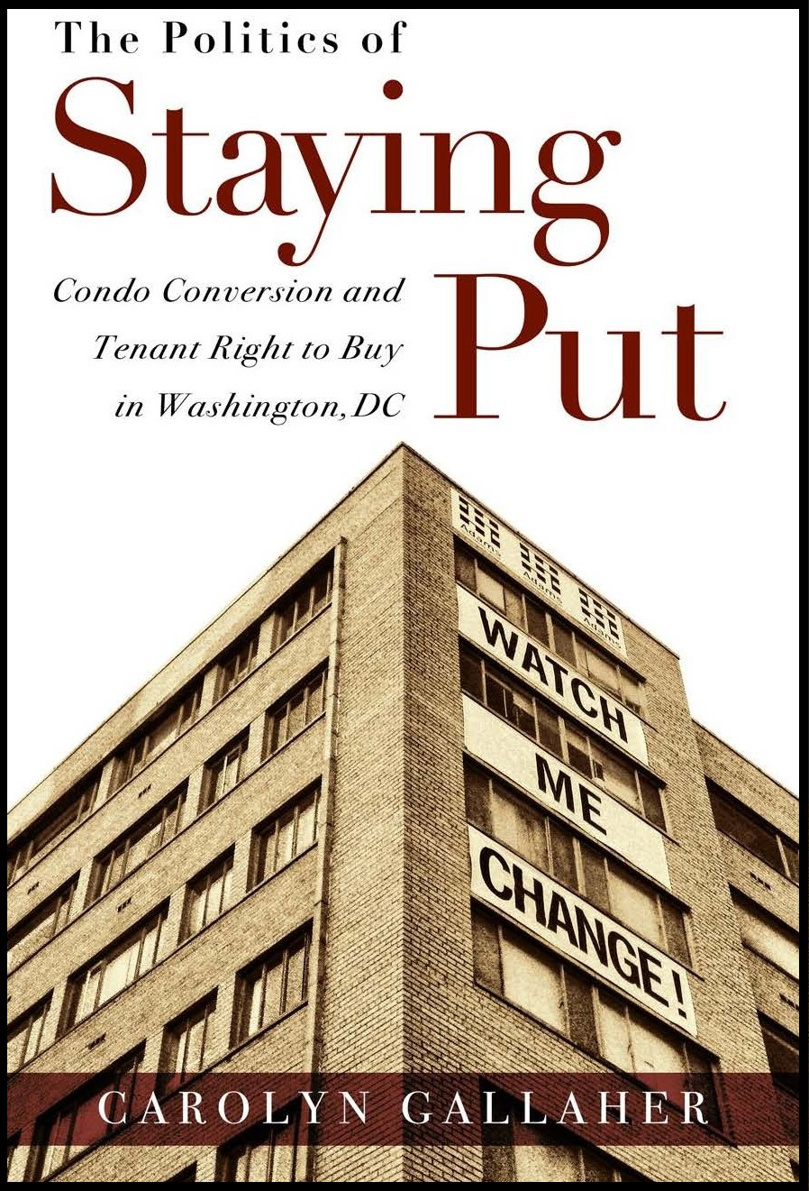 The Politics of Staying Put Book Cover