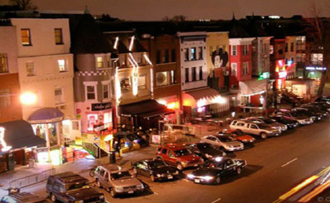 Adams Morgan night view