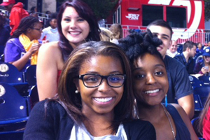 PPL Scholars at the Nationals game