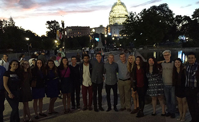 PPL Scholars at the 2015 Papal DC visit