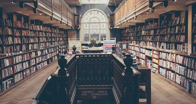 A Victorian university library