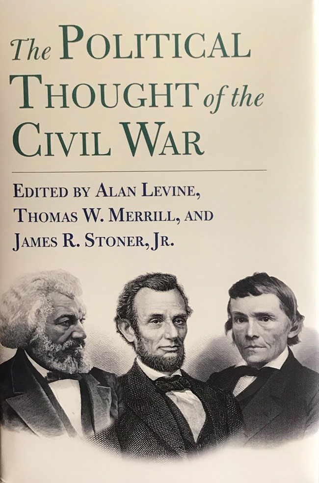 Book Cover: The Political Thought of the Civil War