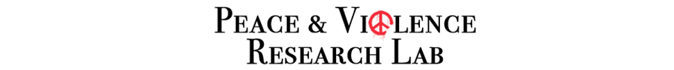 Peace and Violence Research Lab header