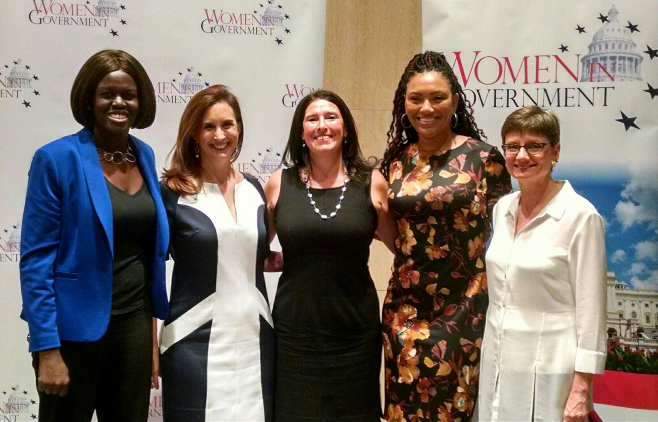 Panelists at the women in government conference